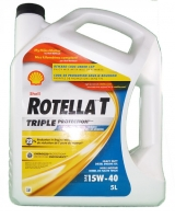 <h5>ROTELLA T 15W40 SHELL</h5><p>																	</p>